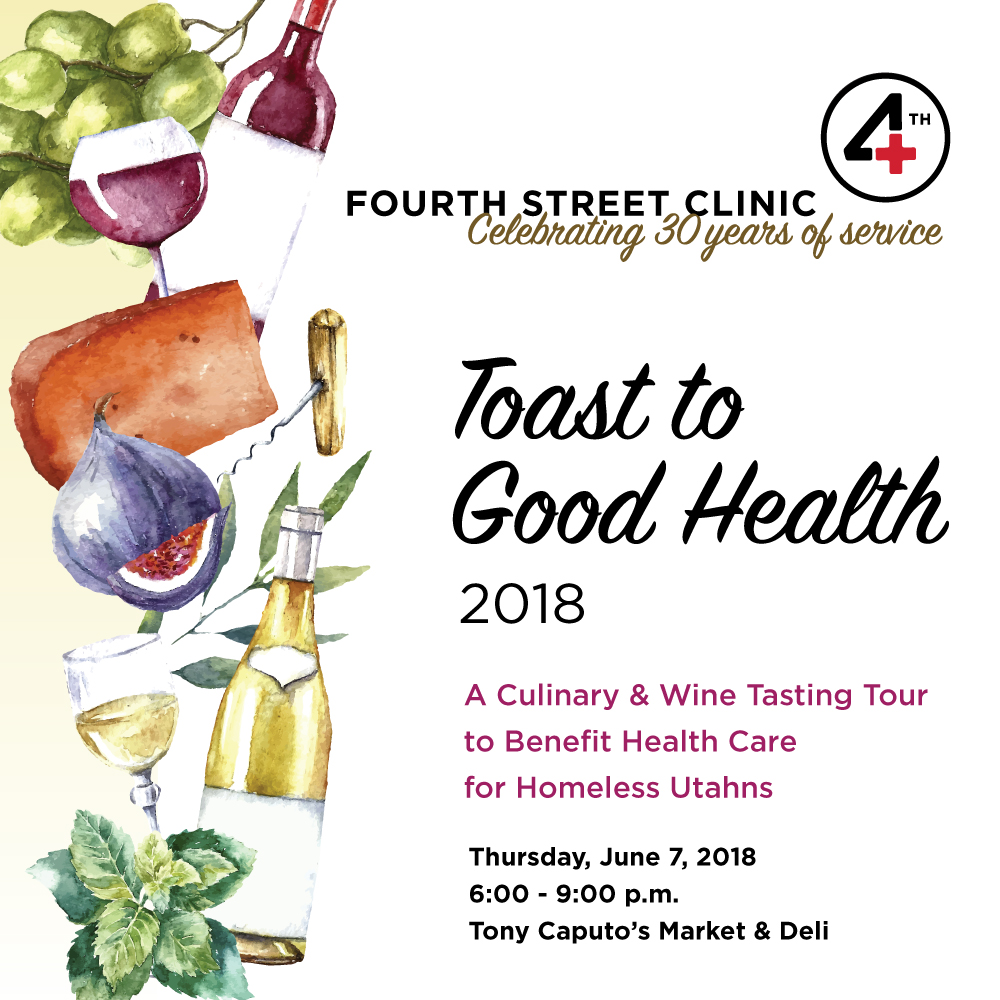 Toast to Good Health fundraiser homelessness events salt lake city food wine charity