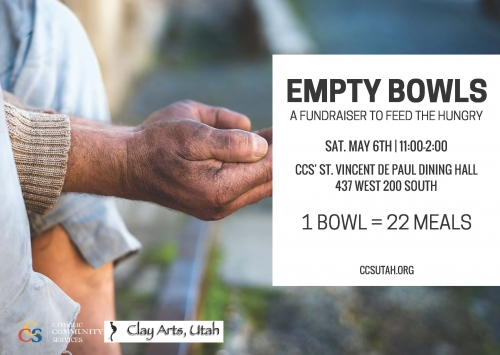 empty bowls fundraiser salt lake city catholic community services