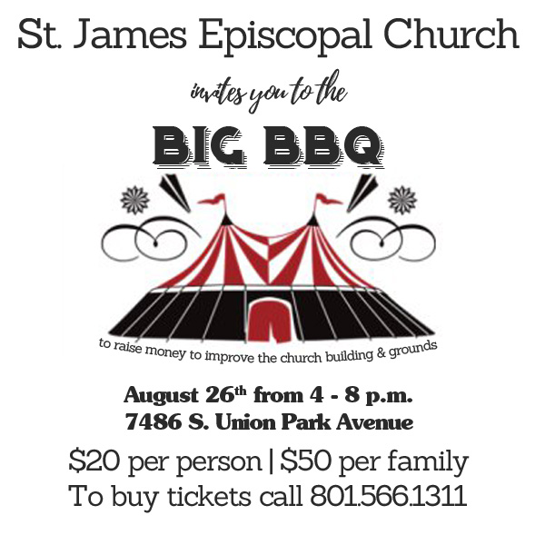 st. james episcopal church bbq august 26