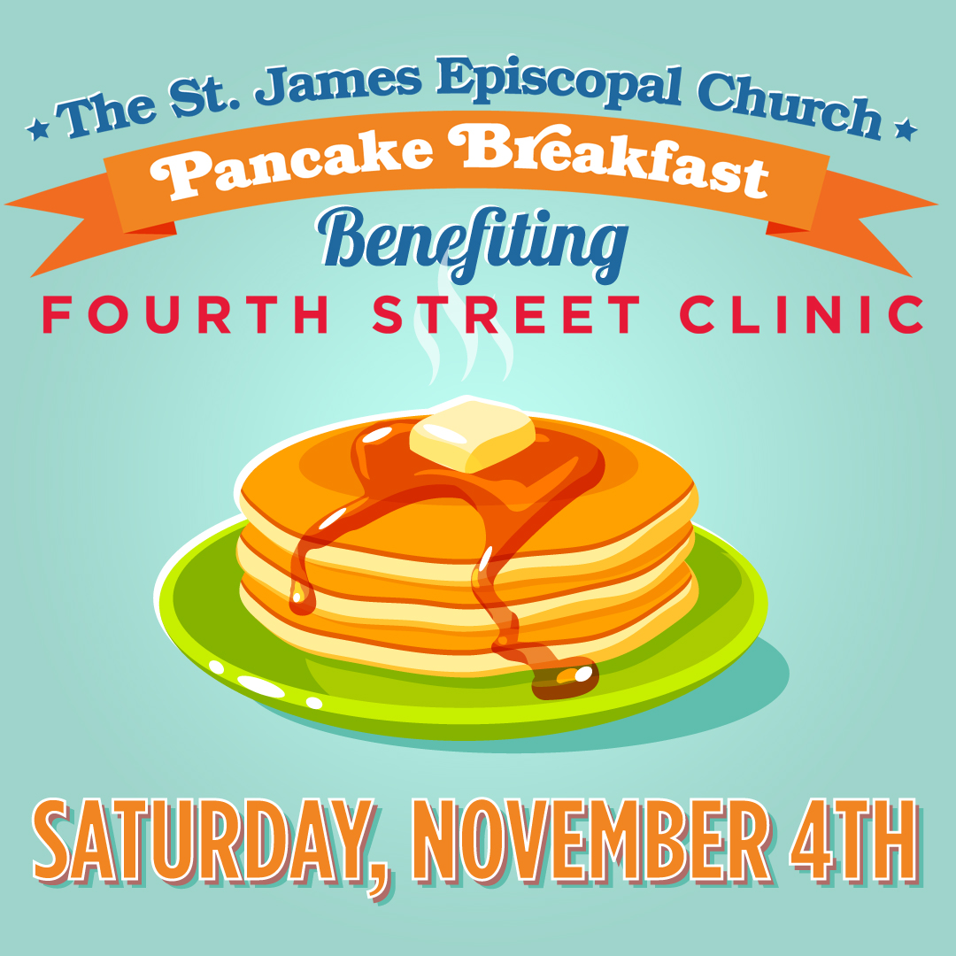 Pancake Breakfast fourth street clinic november