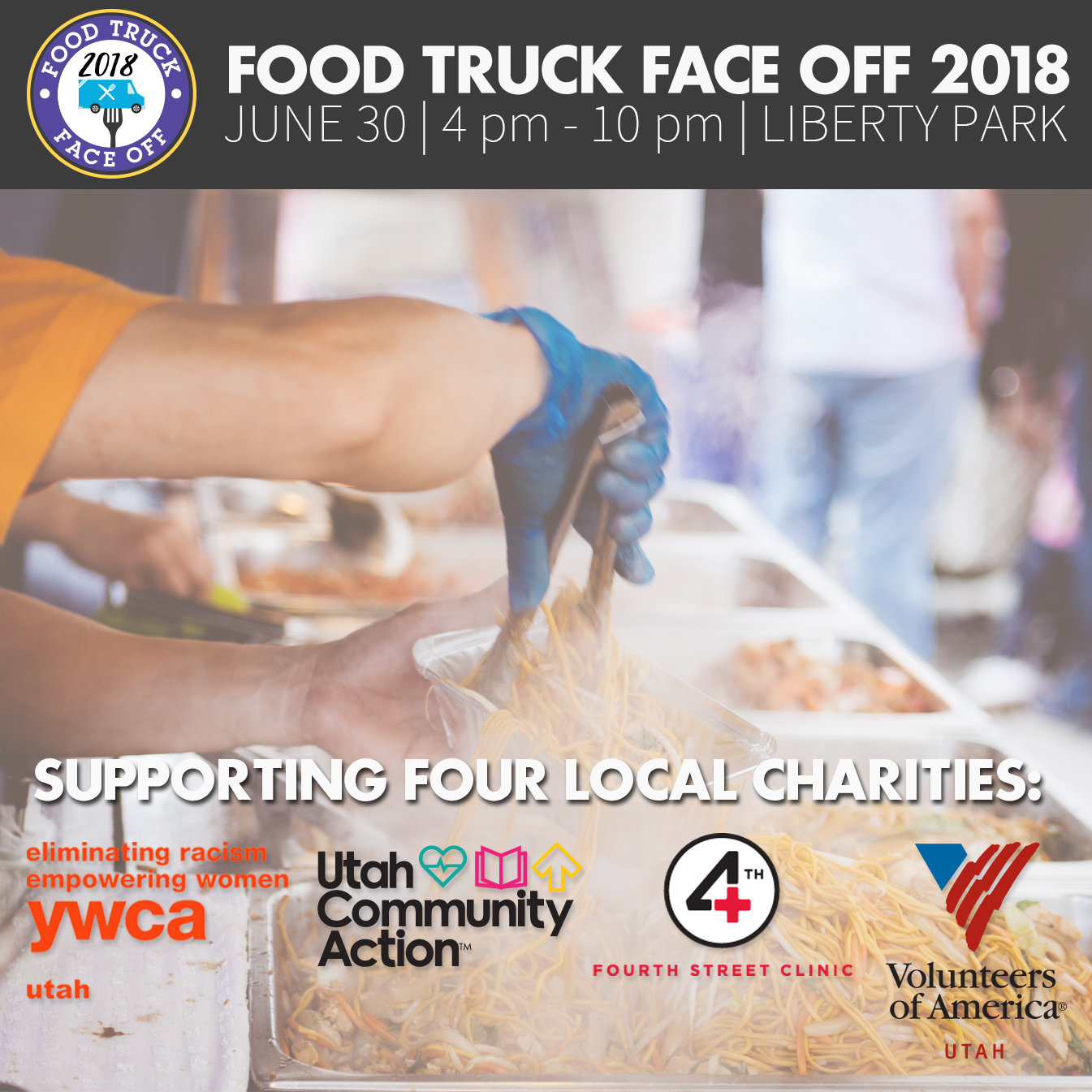 Food Truck Face Off 2018 Utah homelessness charity fundraiser